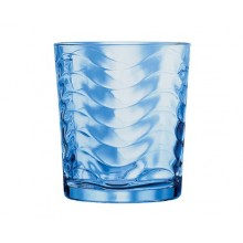 BANQUET Blue Wave poháre na whisky, 260ml, 6ks, 04NB509B6-A