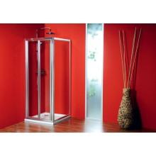 GELCO Sigma sprchové dvere dvojdielne zalamovacie 90, sklo číre SG1829