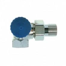 """HEIMEIER radiátorový ventil samoťažný DN 15-1/2"""" uhlový, ľavý 2341-02.000"""