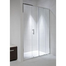 Jika CUBITO PURE sprchové dvere 1000x1950 dvojdielne transparentné sklo 242243