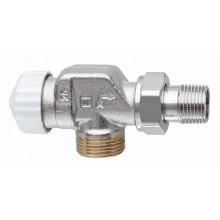 """HEIMEIER radiátorový ventil V-exact II DN 15-3 / 4 """"axiálne, vonkajší závit 3730-02.000"""