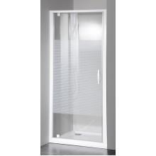 GELCO Eterno sprchové dvere otočné 90 L / P, sklo STRIP GE6690