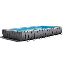INTEX ULTRA Rectangular FRAME POOLS SET 9,75 X 4,88 X 1.32 M 26374NP
