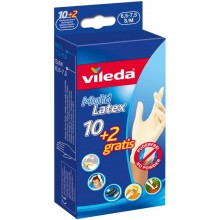 "VILEDA Rukavice Multi Latex 10+2 ""S/M"" 145964"