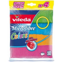 VILEDA Mikrohandrička Colors 4 ks 151502