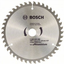 BOSCH Pílový kotúč Eco for Aluminium, 160x1,4 mm, 2608644388