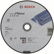 BOSCH Deliaci kotúč rovný Best for Metal, 230x1,5 mm 2608603530