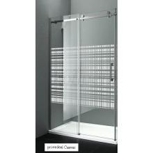 Gelco Dragon sprchové dvere dvojdielne posuvné 120 P, sklo CANVAS GD4512SR