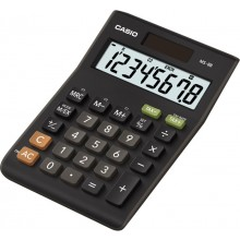 CASIO MS 8 BS (TAX + EXCHANGE) Kalkulačka 45010142