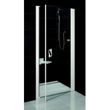 RAVAK Elegance Sprchové dveře ESD1-90 L white Transparent 0EL70100Z1