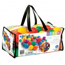 INTEX FUN BALLZ Loptičky do bazéna 6,5 cm, 100 ks 49602
