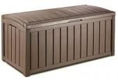 KETER Úložný box - Glenwood  hnedá 390 L,  17198358