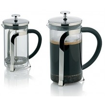 KELA Kanvička na čaj a kávu French Press 700 ml, nerez KL-10851