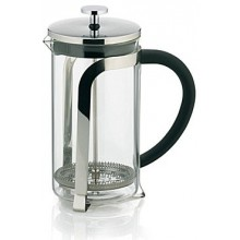 KELA Kanvička na čaj a kávu French Press 1,1 L, nerez KL-10852