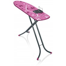 LEIFHEIT Žehlicí prkno Air Board M Shoulder Fit 120x38 cm grey pink 72442