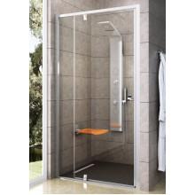 RAVAK Pivot PDOP2-100 sprchové dvere otočné, satin Transparent 03GA0U00Z1