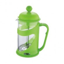 RENBERG Kanvička na čaj a kávu French Press 600 ml zelená RB-3101zele