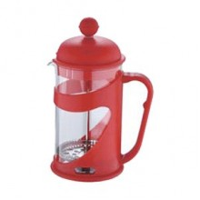 RENBERG Kanvička na čaj a kávu French Press 800 ml červená RB-3102cerv