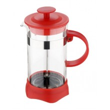 RENBERG Kanvička na čaj a kávu French Press 600 ml červená RB-3108