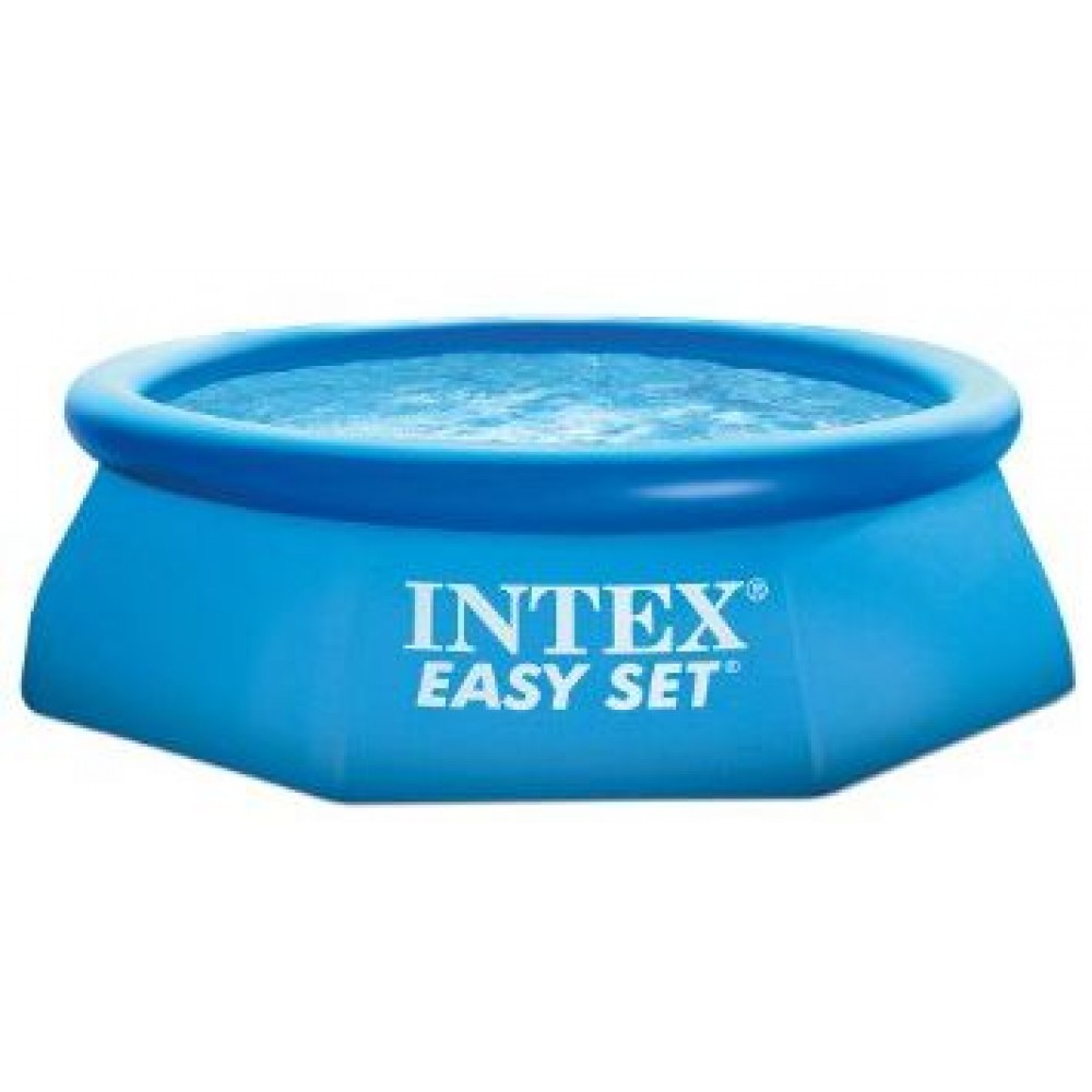 intex easy set pool 244 x 76 cm 28110np. Black Bedroom Furniture Sets. Home Design Ideas