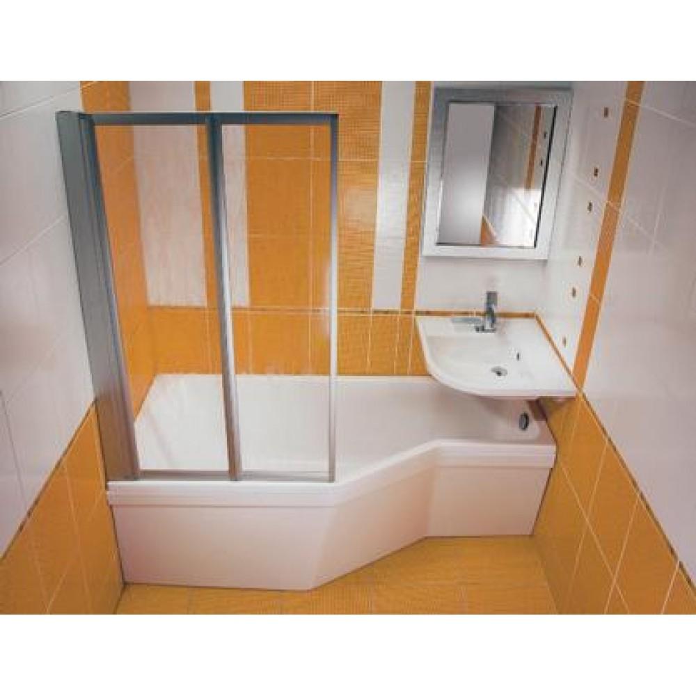 Душевой уголок в маленькой ванной своими руками