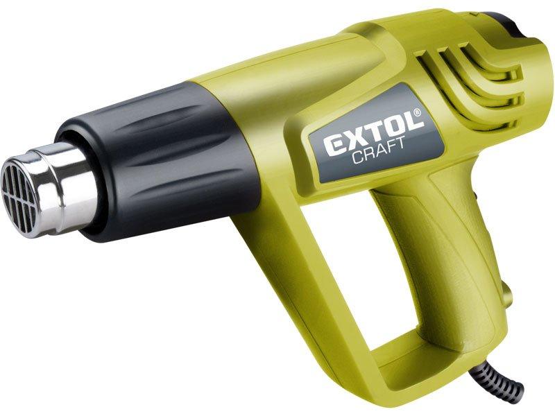 EXTOL CRAFT pištoľ teplovzdušná, 2000 / 1000W, 550/350 ° C, 411013