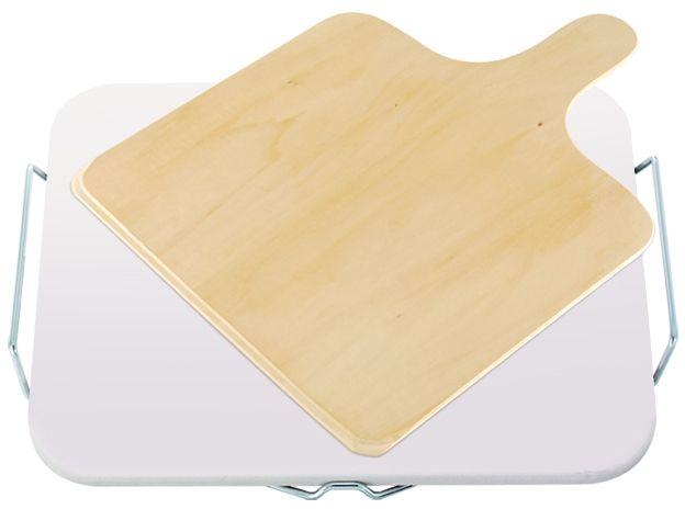 LEIFHEIT Kameň na pečenie pizze hranatý s drevenou doskou 03160